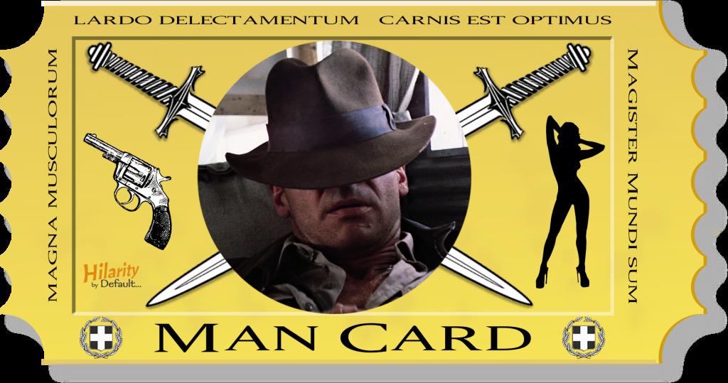 Man Card - Status Quo