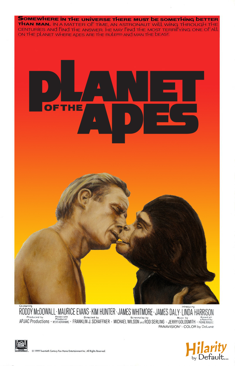 Out-of-Context Posters #7: Planet of the Apes (1968 ...