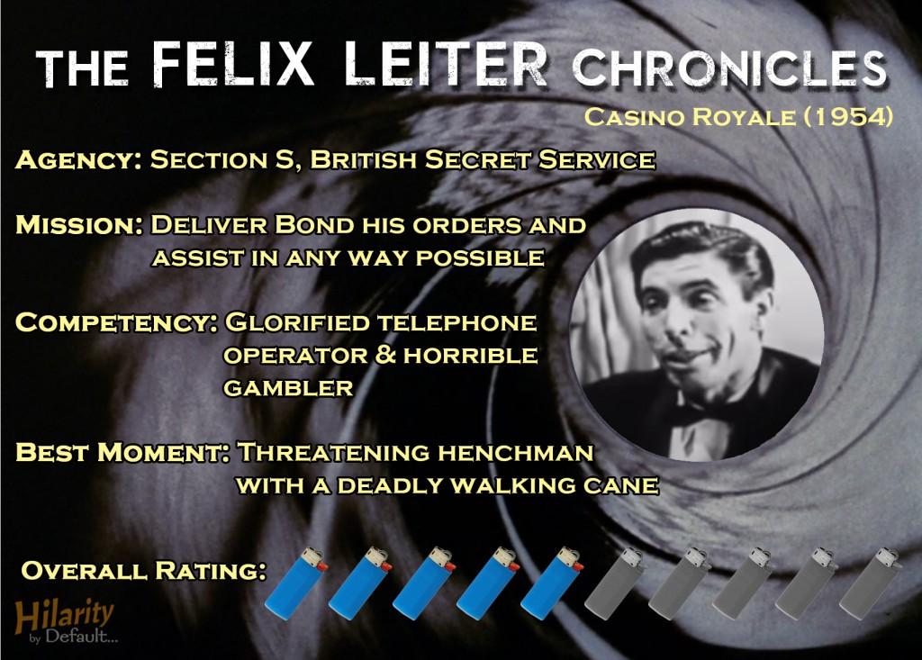 Felix Leiter Chronicles CR54