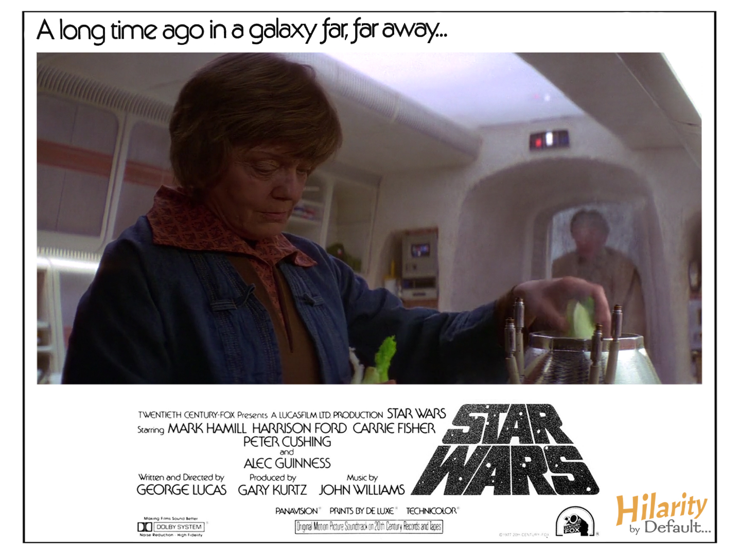 Out Of Context Posters 2 Star Wars Episode Iv A New Hope 1977 Hilarity By Default