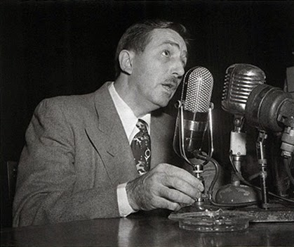 Walt testifying before the House Committee on Un-American Activities in 1947.