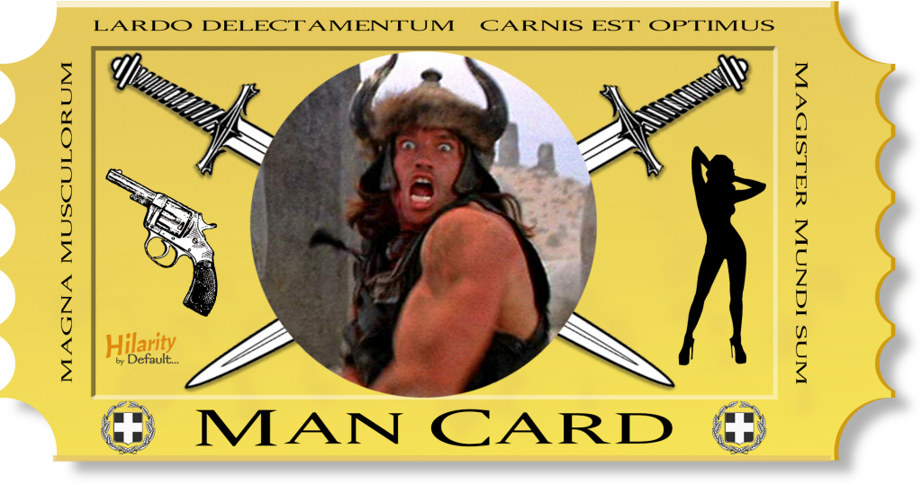 Man Card - Plus 1