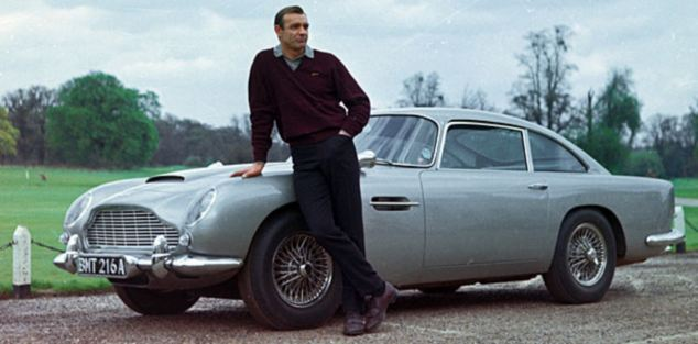 ...the Aston Martin DB5 featured in both Goldfinger and Thunderball...