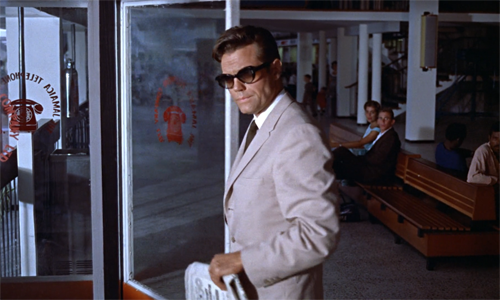 Felix Leiter trying to channel his inner Audrey Hepburn.