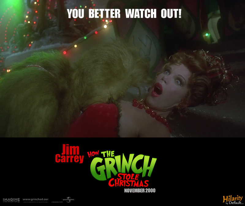 How The Grinch Stole Christmas Movie Poster.Out Of Context Posters 15 How The Grinch Stole Christmas