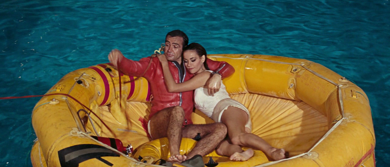 007 on the 7th: Thunderball (1965) - Hilarity by Default
