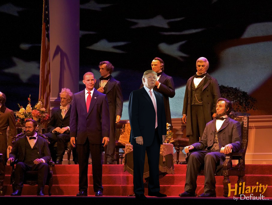 hall of presidents trump