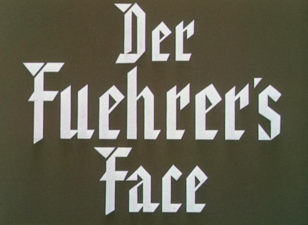 Der Fuehrers Face Title