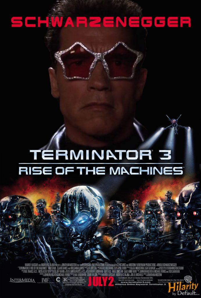 terminator 3 OOC Poster