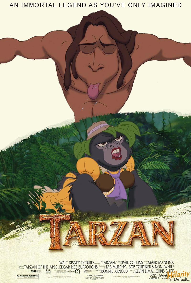 outofcontext posters 32 tarzan 1999 hilarity by
