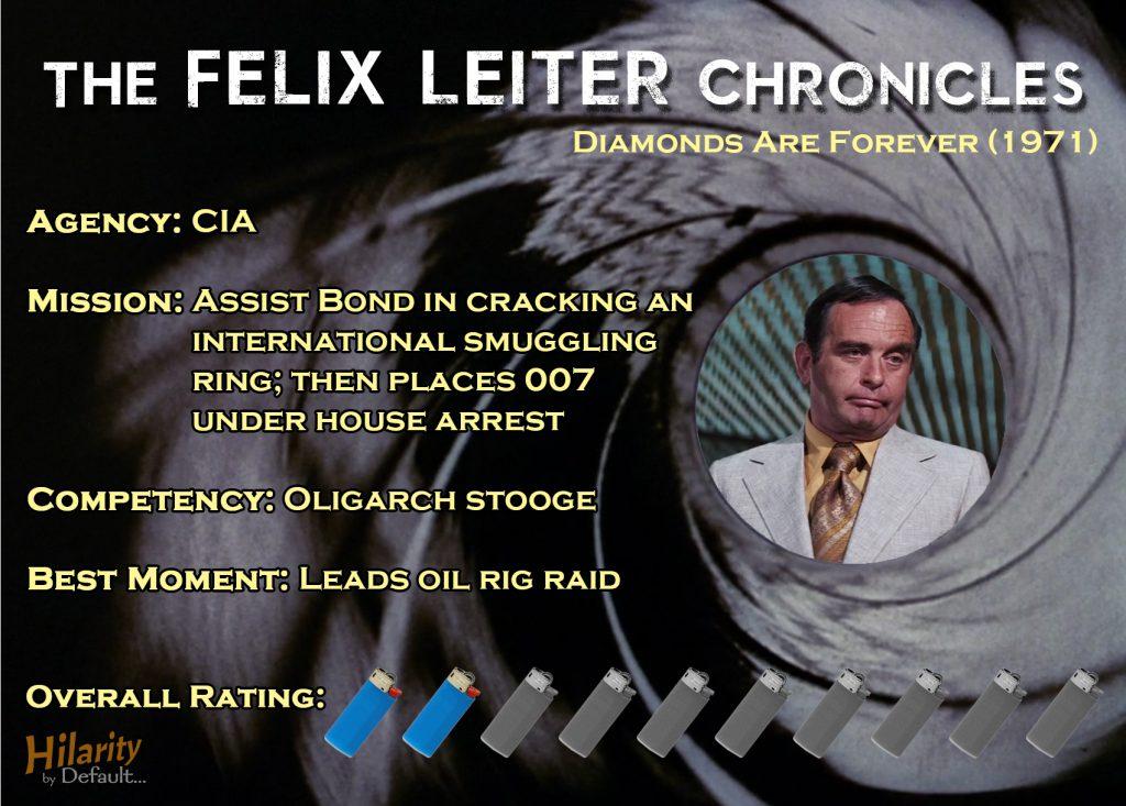 Felix Leiter Chronicles DAF