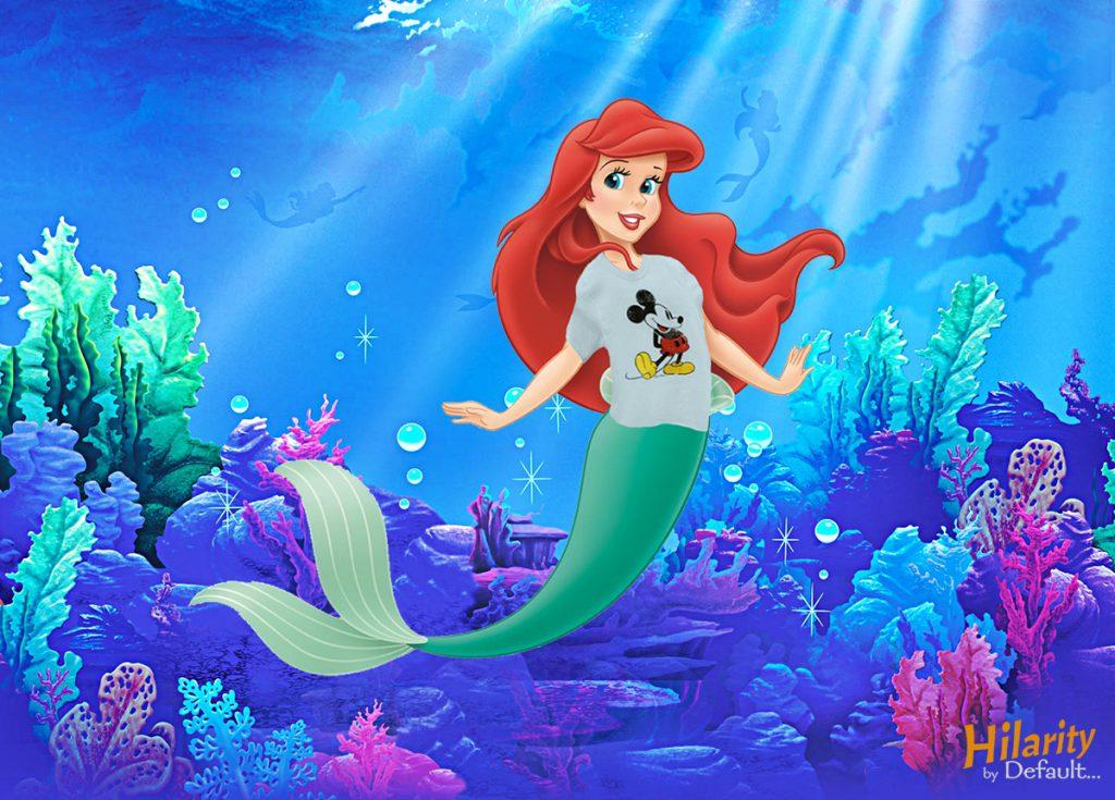 little mermaid censored