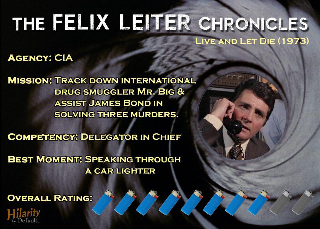Felix Leiter Chronicles LALD