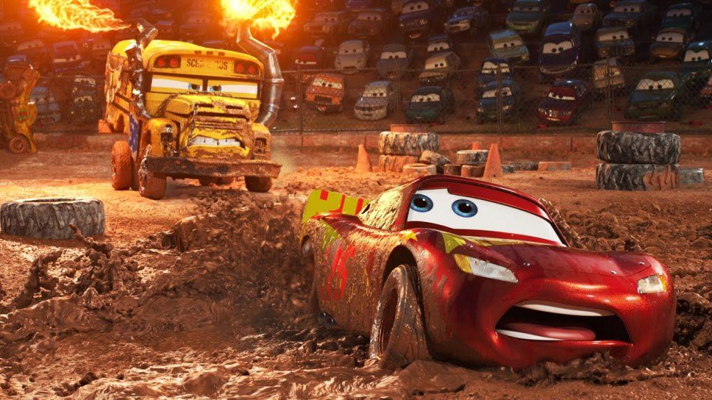 cars 3 mud