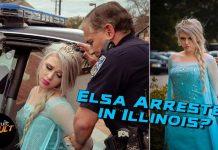 Elsa Arrested