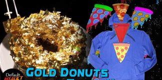 gold donut