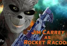 Jim Carrey Rocket Raccoon