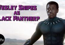 Wesley Snipes BLACK PANTHER