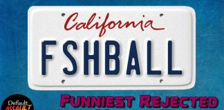 Rejected Vanity Plates