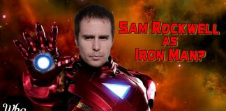 Sam Rockwell IRON MAN