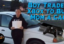 Boy Trades Xbox
