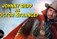 Johnny Depp DOCTOR STRANGE