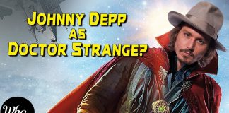 Johnny Depp DOCTOR STRANGE
