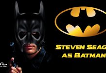 Steven Seagal BATMAN