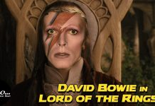 David Bowie LORD OF THE RINGS
