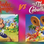 SALUDOS AMIGOS THREE CABALLEROS